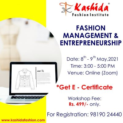 Fashion Management and Entrepreneurship - Kashida Fashion Institute