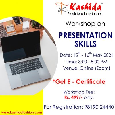 Presentation Skills Kashida Fashion Institute