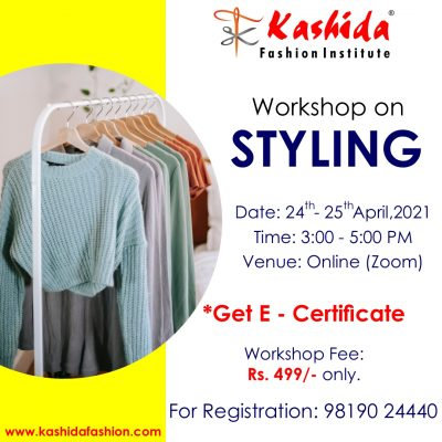 Styling Workshop - Kashida Fashion Institute