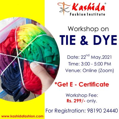 Tie and Dye Kashida Fashion Institute